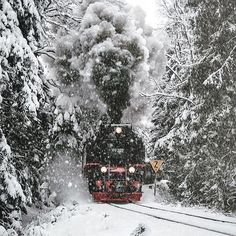 Winter travelling in the Harz Mountains, Germany. Photo by: @iamarux Explore. Share. Inspire: #earthfocus #followback #photooftheday #earth #pretty