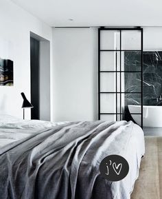 Glass door. Style vs. Decor | A classic and timeless style room - French By Design
