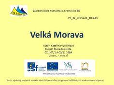 Velká Morava Základní škola Kutná Hora, Kremnická 98>