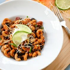 Skillet Chicken Chili Mac- a quick and easy weeknight meal