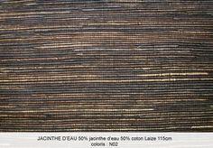 CMOPARIS // COMPAGNIE MARIANNE OUDIN // specialiste fibres vegetales - Jacinthe // 5 rue chabanais 75002 Paris // 06 89 95 03 // 01 40 20 45 98