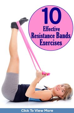A great way to workout at home and get toned up is by using resistance bands. Here are the 10 effective resistance band exercises and their benefits for you to check out