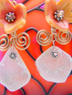 amazing handmade copper jewelry / Earrings #5