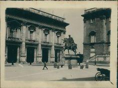 Italia, Roma. Campidoglio, 1908 Vintage Silver, Statue, Italia, Fotografia, Sculptures, Sculpture