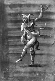 A dancing Royal jester - School Of Basel
