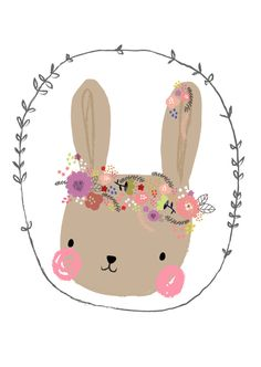 Aless Baylis 'Kaart Bunny' for Petite Louise Image Deco, Art And Illustration, Cute Drawings, Easter Drawings, Nursery Art, Cute Wallpapers, Cute Art, Art For Kids, Diy And Crafts