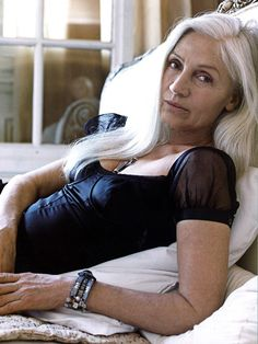 Ingmari Lamy at Long Gray Hair, Grey Hair, White Hair, Beautiful Old Woman, Hairstyles Over 50, Ageless Beauty, Going Gray, Aging Gracefully, Silver Hair
