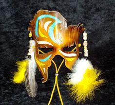 Tribal Shaman Mask by TasteOfCrimson.deviantart.com on @deviantART