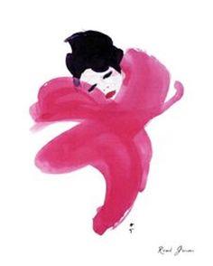 rene gruau http://samirving.wordpress.com/2011/01/09/dior-illustrated-rene-gruau-and-the-line-of-beauty/rene-gruau-pink/