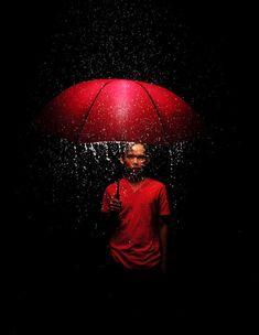 Amazing lighting for rain photography