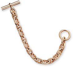 Hermes Chaine Dancre in Gold