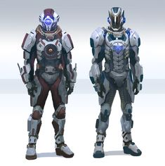 Artist goes by the pseudonym LeopardSnow, concept looks like something from Mass Effect.
