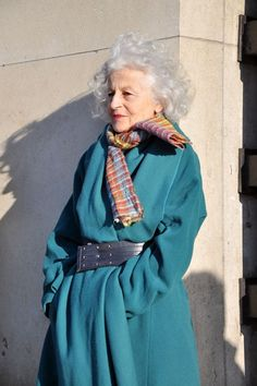 Style at any age;she looks amazing