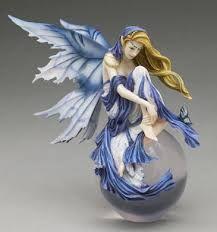 Nene Thomas Blue Dream Bubble Rider Fairy Figurine Munro - Retired for sale online Dragon Figurines, Fairy Figurines, Fairy Statues, Unicorns And Mermaids, Fairy Pictures, Art Folder, Butterfly Fairy, Beautiful Fantasy Art, Fantasy Dragon