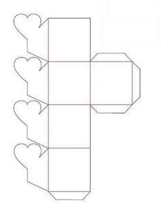 Molde-de-caixa-de-papel.jpg (399×512)
