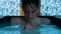 You come up with your best ideas in the bathtub. | 15 Signs You're The Oswald Cobblepot Of Your Friend Group