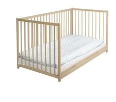 IKEA   SNIGLAR, Crib , The Bed Base Can Be Placed At Two Different  Heights.One Bed Side Can Be Removed When The Child Is Able To Safely Climb  Into And Out ...