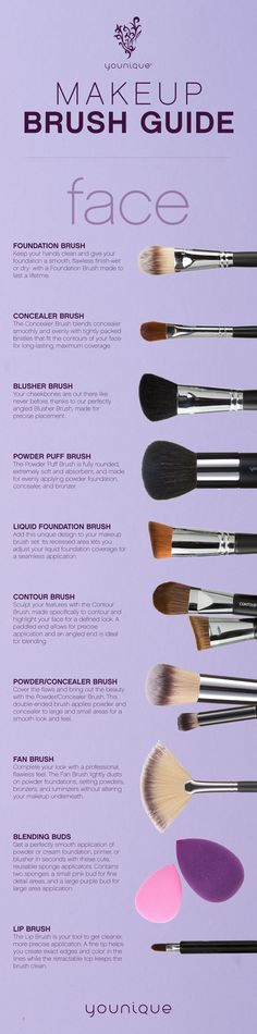 Perfect your makeup look with the right tools from our full line of Younique makeup brushes.