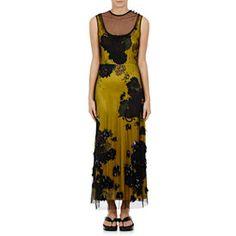 Delile Embellished Tulle Dress