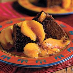 50 Fresh Summer Peach Recipes | Cocoa Bread With Stewed Yard Peaches | SouthernLiving.com
