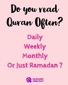 Easy Way to Make Quran a daily guide in Life not just Ramadan. We all want to read Quran and benefit but life takes over. Here's a quick easy guide to making it regular.