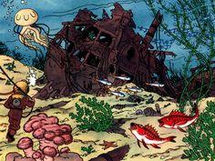 Tintin - Red Rackham's Treasure (p40)