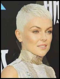 Icy Short Pixie Cut - 60 Cute Short Pixie Haircuts – Femininity and Practicality - The Trending Hairstyle Really Short Hair, Short Sassy Hair, Super Short Hair, Short Hair With Bangs, Short Hair Cuts, Short Hair Styles, Pixie Cuts, Edgy Haircuts, Short Pixie Haircuts