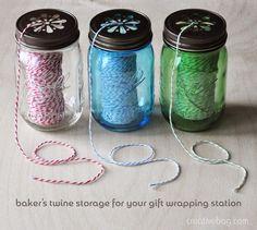 ideas using mason jars with Creative Bag