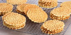 Bake With Anna Olson TV Show recipes on Food Network Canada; your exclusive source for the latest Bake With Anna Olson recipes and cooking guides. Anna Olson, Pizzelle Cookies, Italian Cookies, Italian Desserts, Italian Recipes, Food Network Recipes, Gourmet Recipes, Cookie Recipes, Sweets