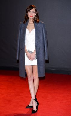 Pin for Later: It's Impossible to Describe Alexa Chung's Style  Alexa attended the British Fashion Awards in December 2013 in a simple but still very elegant look.