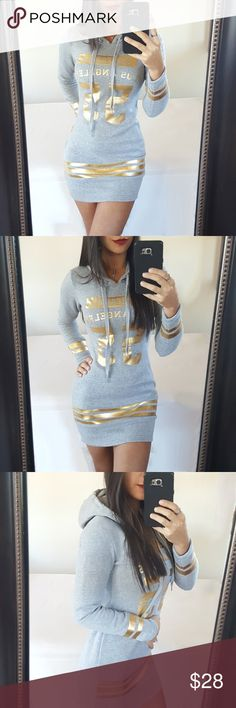 """""""Los Angeles"""" Hoodie Super warm and cozy, perfect for the upcoming winter! Paid $79! Brand new with tags, size small. Fast shipper   🚫Holds or trades🚫  #hoodie #womenshoodie #losangeles #california #winter #fashion #fashionable #boutique #shopping #trends #trendy Sweaters"""
