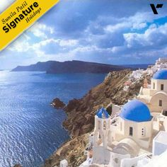 #SignatureHolidays:Whitewashed houses perched on cliffs, clear blue skies, sparkling aquamarine waters, long beautiful beaches and stunning sunset! Santorini with it's serene beauty and dramatic landscape will definitely leave you with golden memories to be cherished forever.