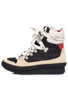 04efadaca9cb4f Isabel Marant Brendta Sneakers in Black