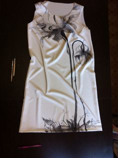 Роспись по ткани , принт