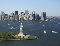 Don't miss a visit to the Empire State Building and the Statue of Liberty, two of the most iconic American sights.