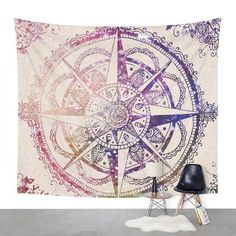 Mandala Animal Design Yoga Mat
