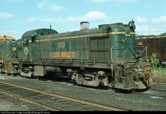 RailPictures.Net Photo: MEC 553 Maine Central Alco RS-2 at Waterville, Maine by George W. Hamlin