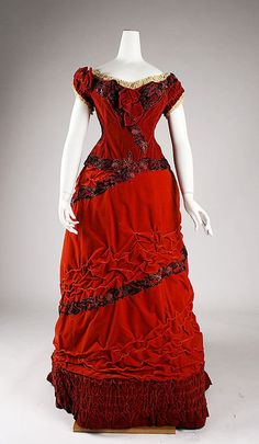 Ball Gown. 1875. The Metropolitan Museum of Art
