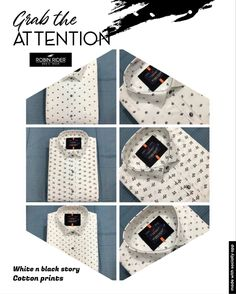 Casual Wear, Casual Shirts, Menswear, Printed, Cotton, How To Wear, Black, Casual Outfits, Casual Clothes