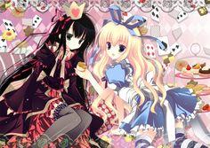 alice in wonderland anime | kawaii♥anime: Alice in wonderland