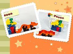#DIY un #Berlin - aus Ungarn stammen diese süßen Mini-Puzzle für Kinder. Kunterbunt, aus Holz, und in großer Auswahl.