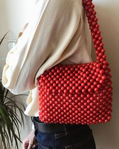 Beaded Purses, Beaded Bags, Looks Style, My Style, Fashion Bags, Womens Fashion, Cute Handbags, Vintage Purses, Handmade Beads