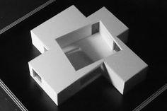 THE COURTYARD Graux & Baeyens architecten - Gent - Architects, architectural model, modelo, maquette Maquette Architecture, Concept Models Architecture, Architecture Model Making, Architecture Portfolio, Landscape Architecture, Interior Architecture, Architecture Apps, Architecture Definition, Windows Architecture