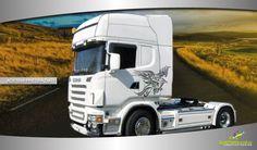 #uncamioncomepochi #solodasantorografica adesivo per camion aquila in volo - disponibile in vari colori e varie dimensioni.