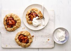 Sweeten Up Your Day With These Peach and Cherry Pies by Curtis Stone Curtis Stone Recipes, Cherry Pies, No Bake Desserts, Bulletin Boards, Whole Food Recipes, Good Food, Peach, Thanksgiving, Community