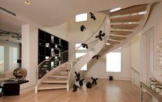 Лестница в интерьере дома: стильный дизайн лестниц на второй этаж в частном доме