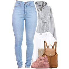 A fashion look from December 2015 featuring H&M tops and Tory Burch backpacks. Browse and shop related looks.