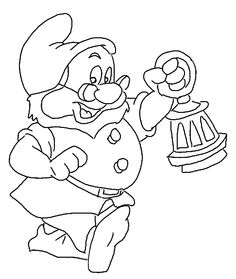 Snow-White Coloring Page - Print Snow-White pictures to color at AllKidsNetwork.com
