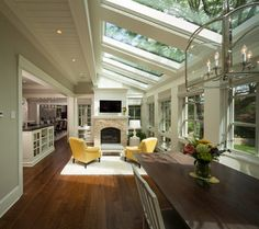 Modern Twist on Tradition - transitional - family room - minneapolis - by Kyle Hunt & Partners, Incorporated