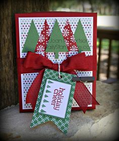 September Class - Box of cards Stampin' Up! Holiday Catalog 2014